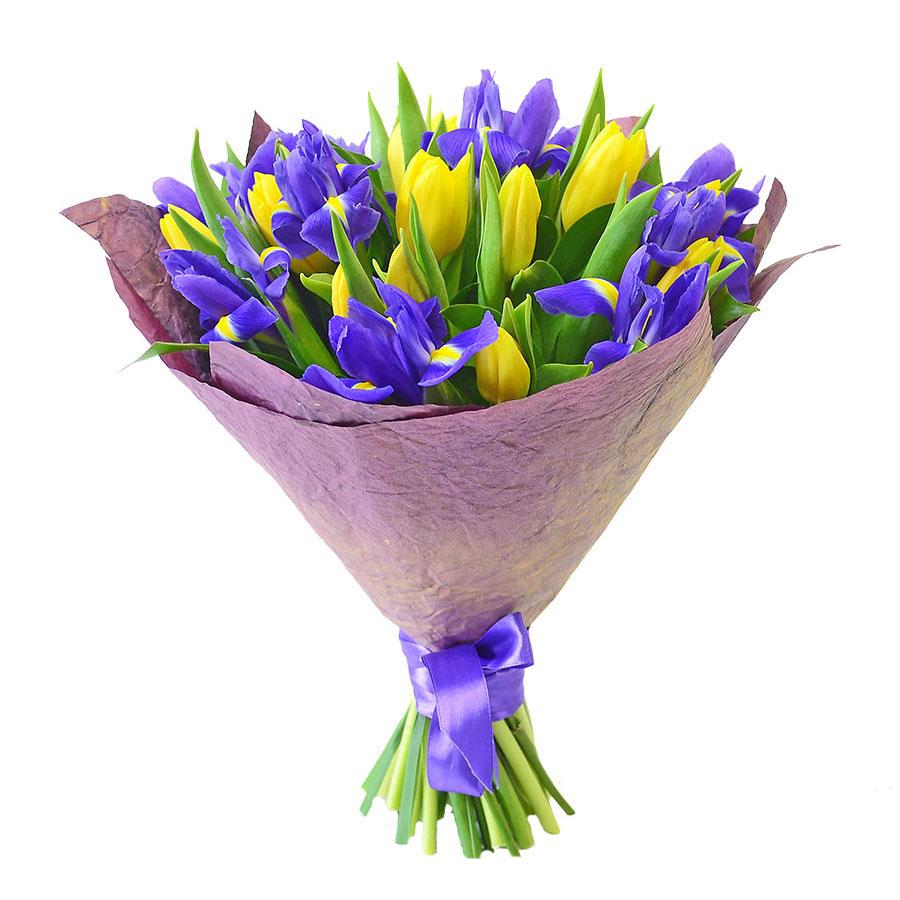 Цветы, букет весенний купить в москве