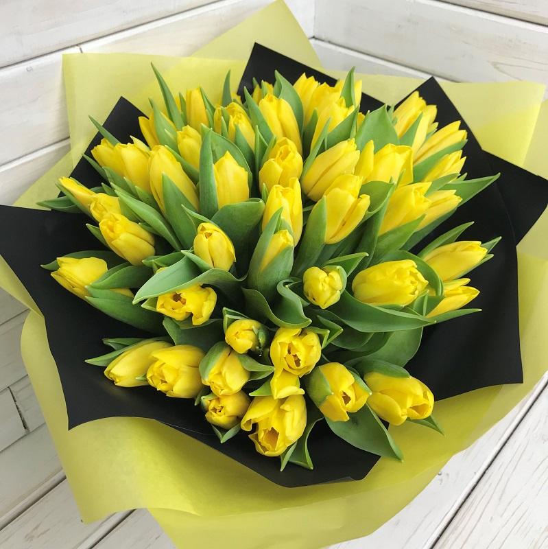 Пожелание к букет желтые тюльпаны фото, база цветов