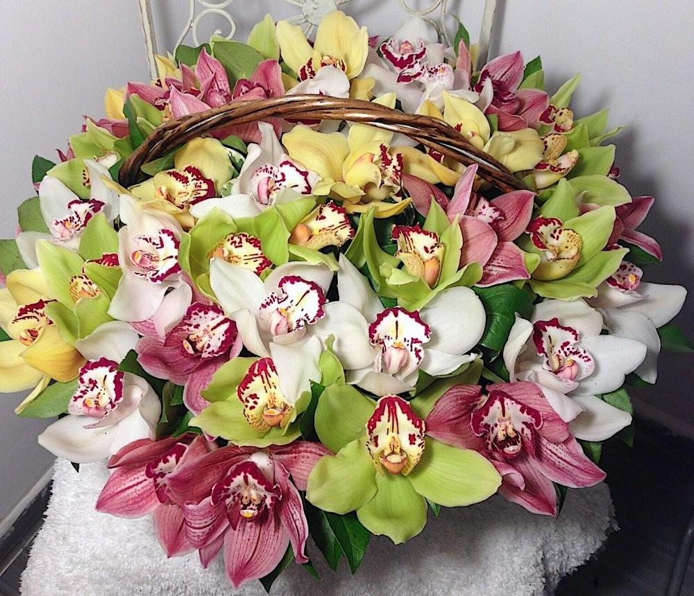 Букеты из орхидей необычные фото